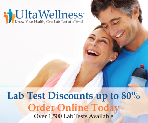 UltaWellness Testosterone Lab Test At Home